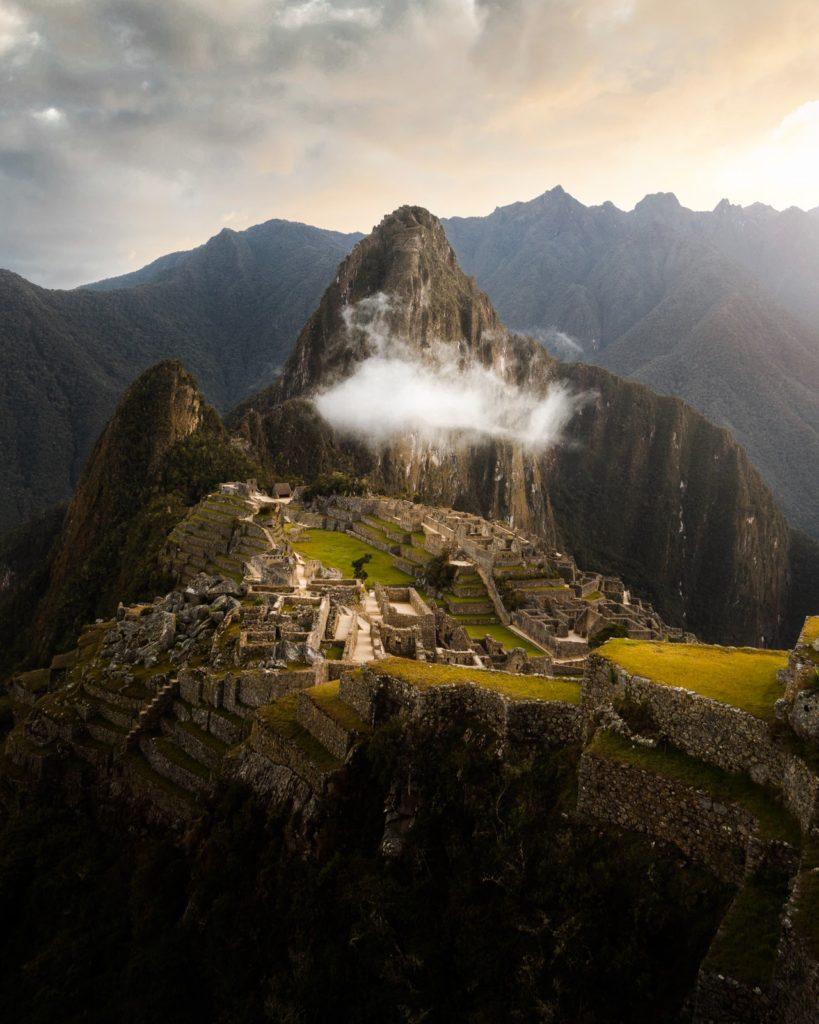 le maca est cultivé dans les hauteurs du Pérou comme cette montagne magnifique