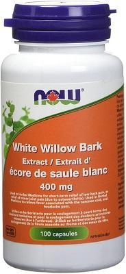 capsules de saule blanc de NOW