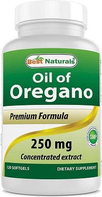 gélules d'huile d'origan