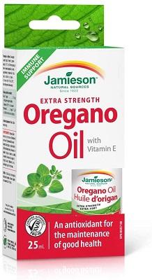 huile d'origan avec vitamine E