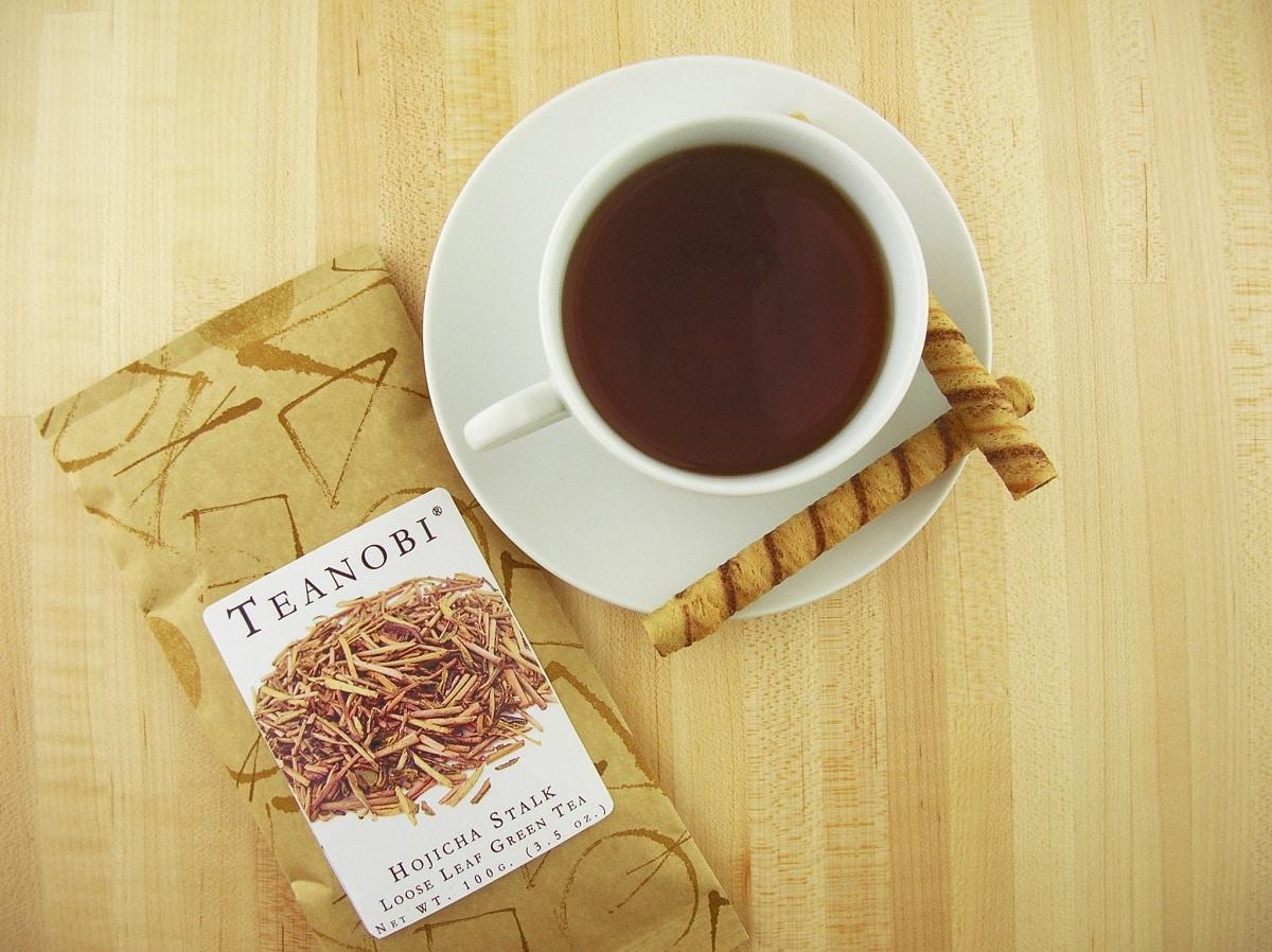 le thé hojicha