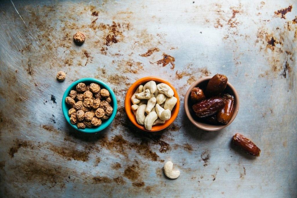 souchets ou noix tigrées