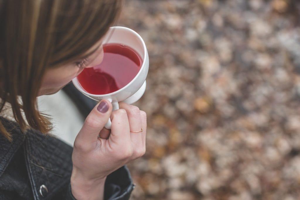Tisane au sumac vinaigrier du Québec