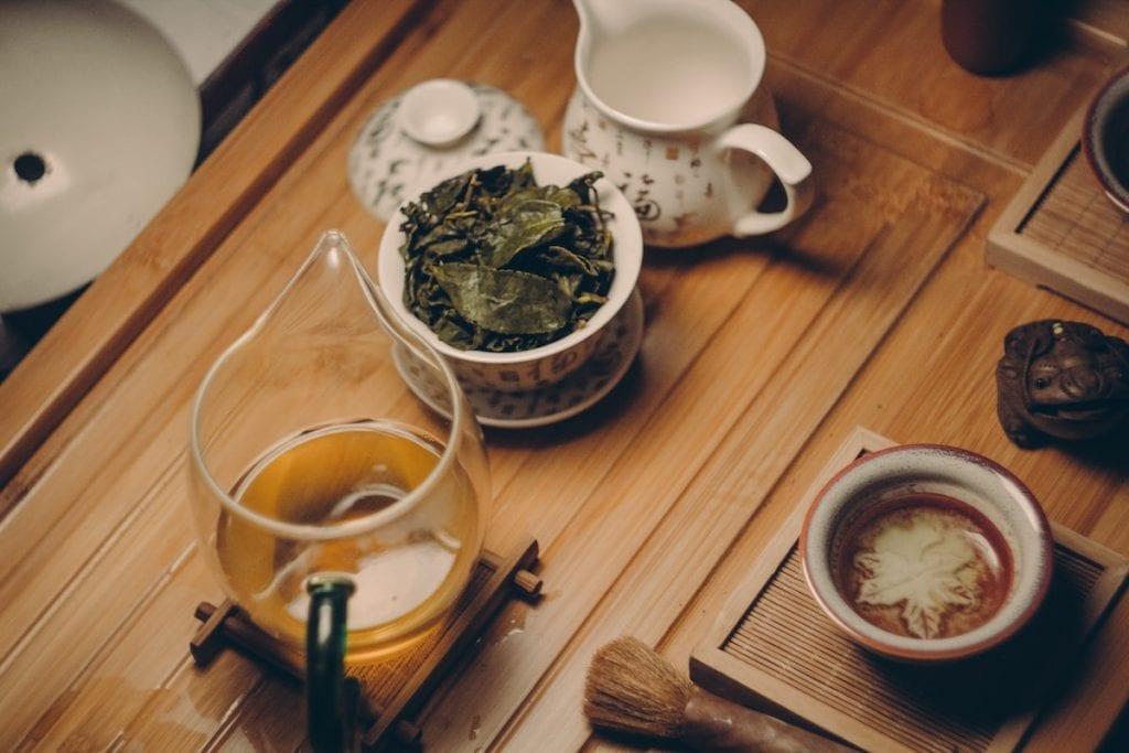Thé blanc: une boisson riche en antioxydant